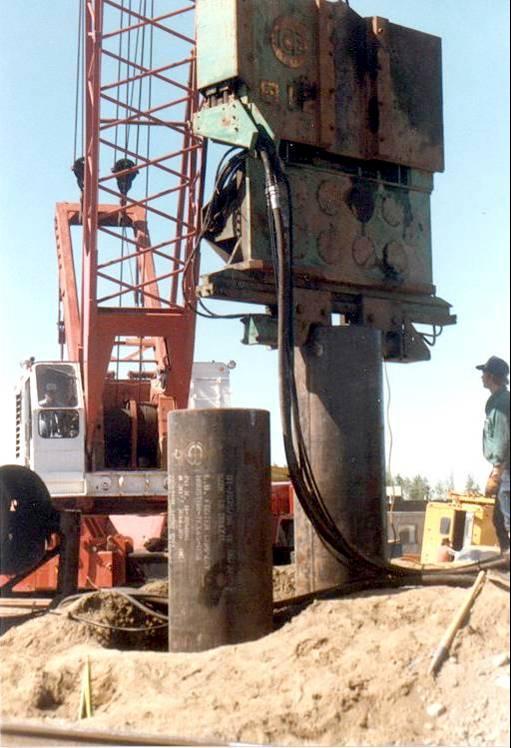 Steel Pipe Piles - Acpfoto